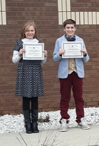 Speech Contest Winners